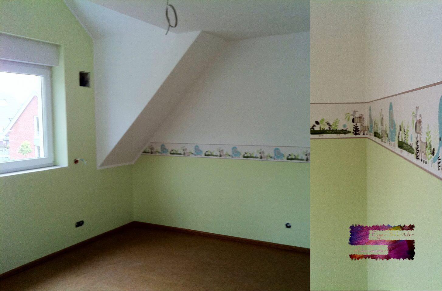 Kinderzimmer renovieren malermeister eugen schr der in for Kinderzimmer renovieren