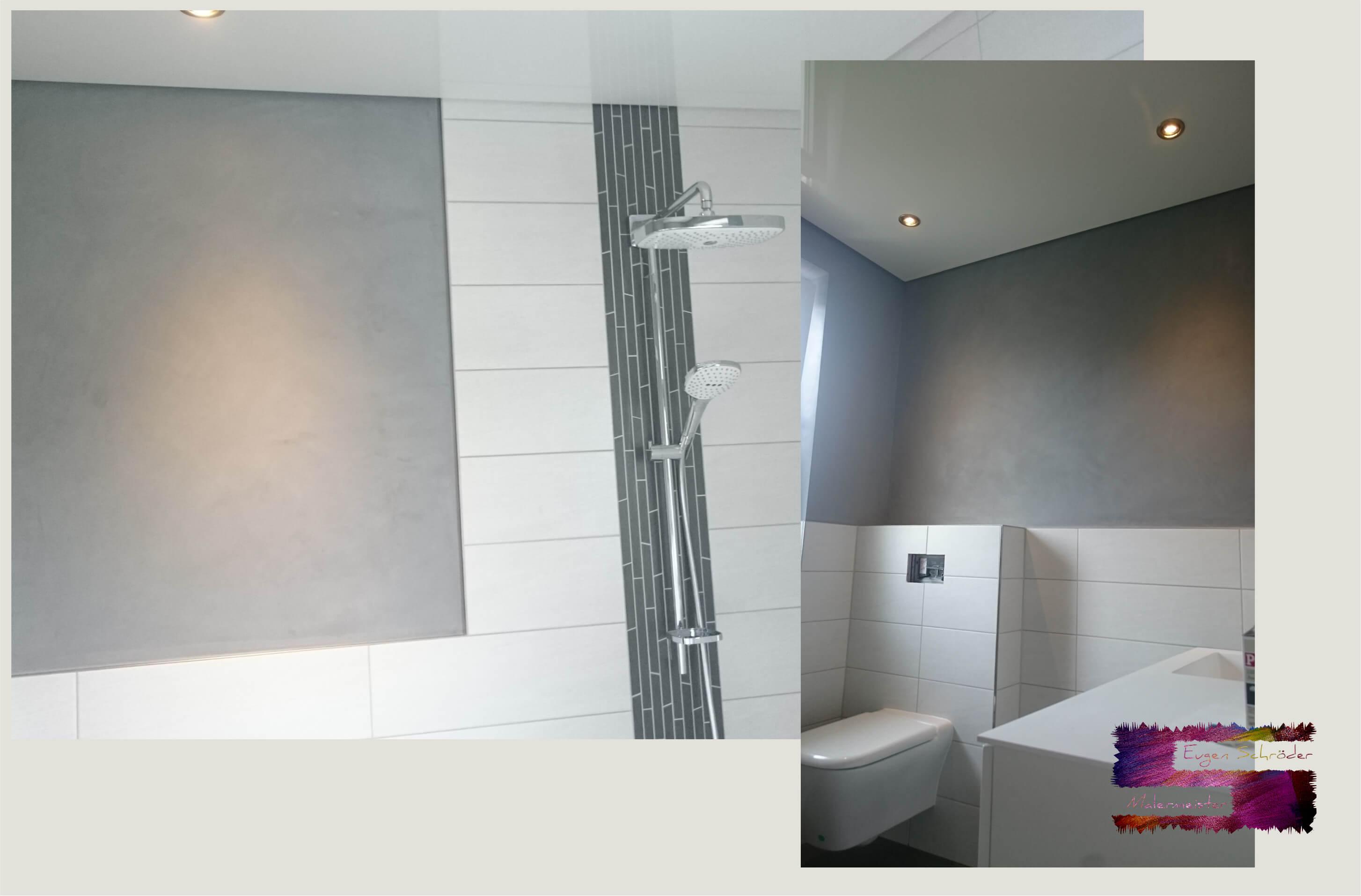 badezimmer ohne fliesen malermeister eugen schr der in. Black Bedroom Furniture Sets. Home Design Ideas